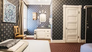Premium bedding, memory foam beds, free WiFi