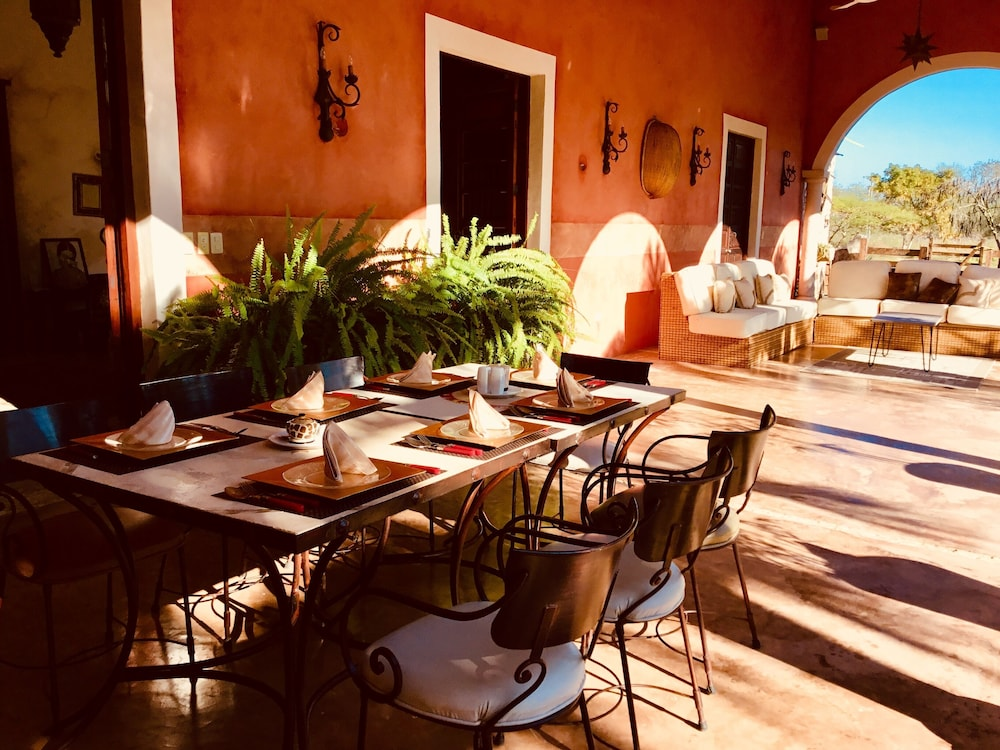 Breakfast Area, Hacienda Sacnicte