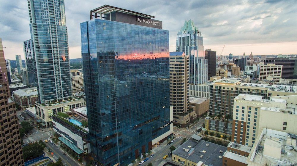 Aerial View, JW Marriott Austin