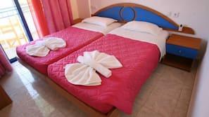 Schallisolierte Zimmer, Bügeleisen/Bügelbrett, kostenlose Babybetten