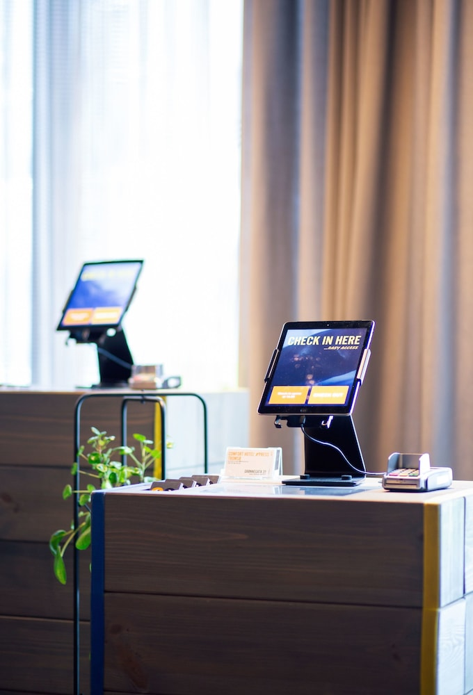 Check-in/Check-out Kiosk, Comfort Hotel Xpress Tromso