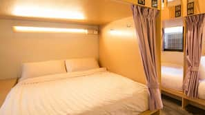Pillowtop beds, in-room safe, blackout drapes, free WiFi