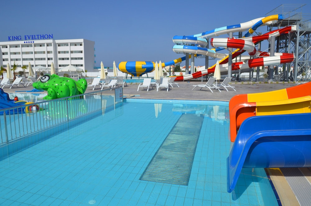 Waterslide, King Evelthon Beach Hotel & Resort