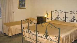 Desk, free cots/infant beds, rollaway beds, free WiFi