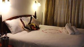 Coffre-forts dans les chambres, rideaux occultants