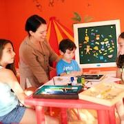 Khu vui chơi trẻ em - Trong nhà