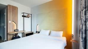 高級寢具、隔音、免費 Wi-Fi