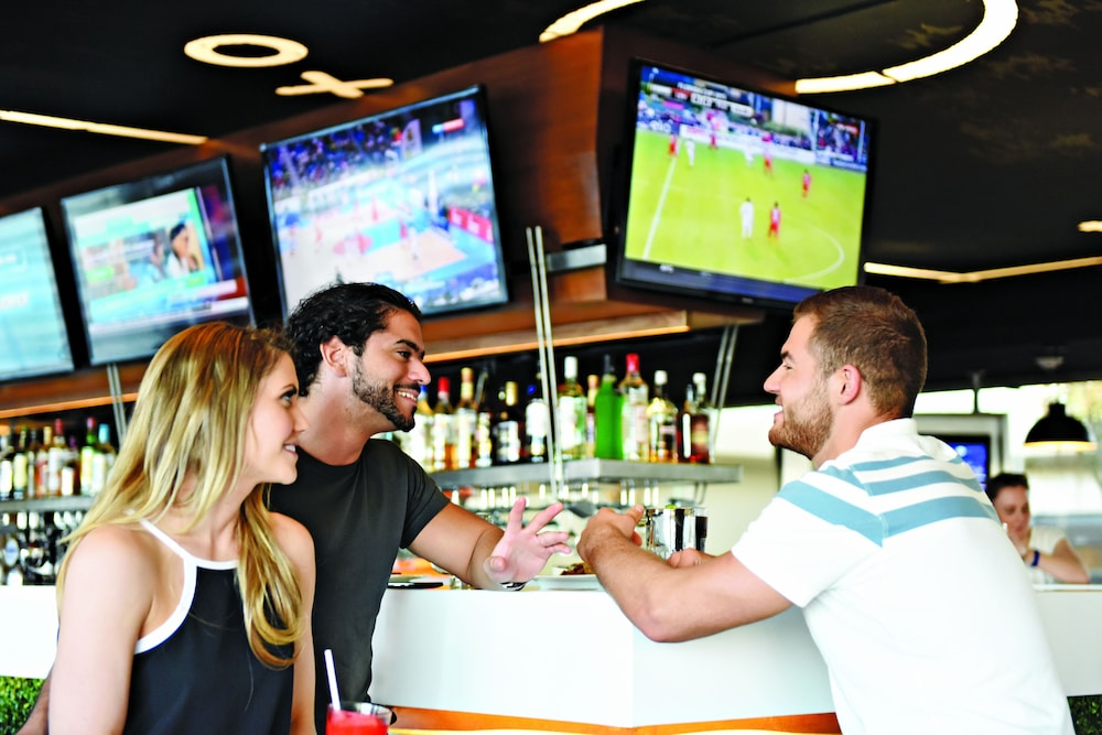 Sports Bar, Hideaway at Royalton Riviera Cancun Adults Only - All Inclusive