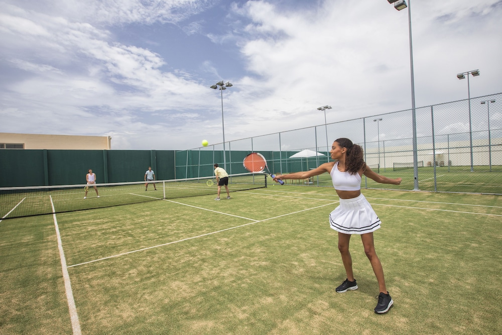 Tennis Court, Hideaway at Royalton Riviera Cancun Adults Only - All Inclusive