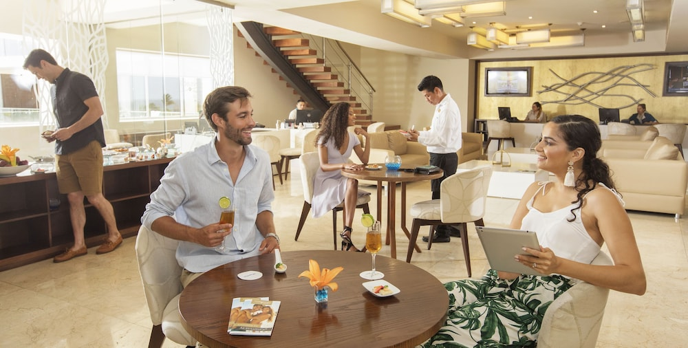 Lobby Lounge, Hideaway at Royalton Riviera Cancun Adults Only - All Inclusive