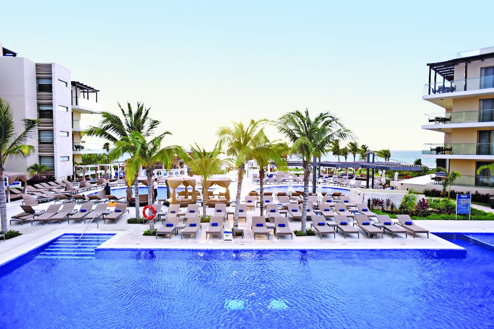 Outdoor Pool, Hideaway at Royalton Riviera Cancun Adults Only - All Inclusive
