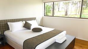 Egyptian cotton sheets, premium bedding, iron/ironing board, free WiFi