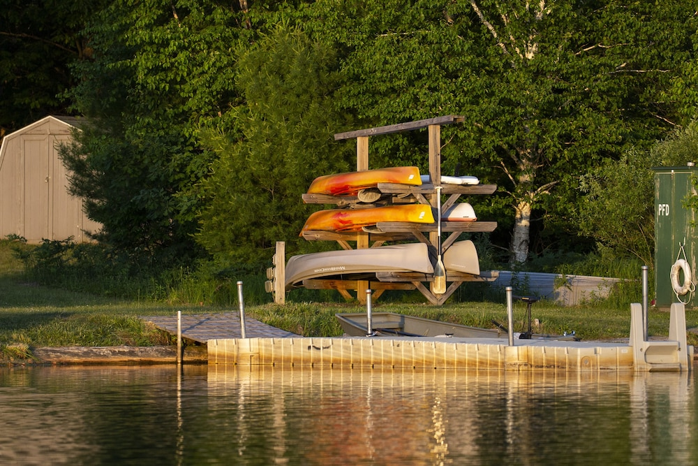 Kayaking, Rockwell Lake Lodge