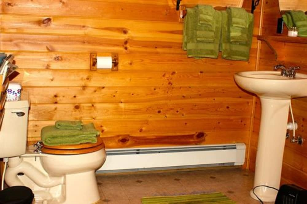 Bathroom, Aubert Den Lodge