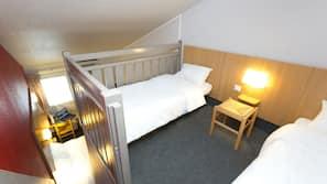 Premium bedding, desk, soundproofing, free WiFi