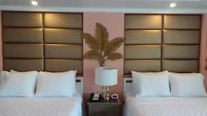 Individually decorated, individually furnished, soundproofing