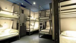 10 間臥室、高級寢具、特厚豪華床墊、窗簾
