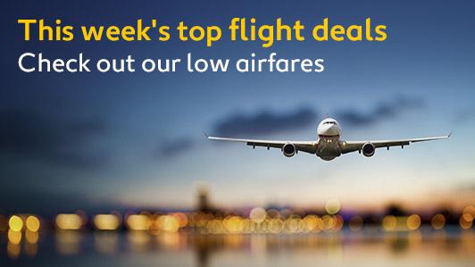 This Week's Hot Flight Deals!