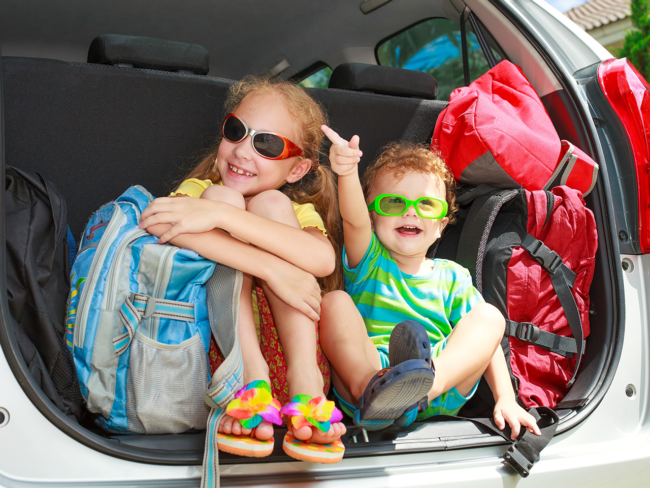 Are we there yet? How to survive road trips with kids