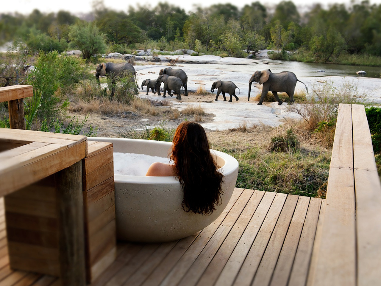 Unique Sleeps: Londolozi Private Game Reserve, South Africa