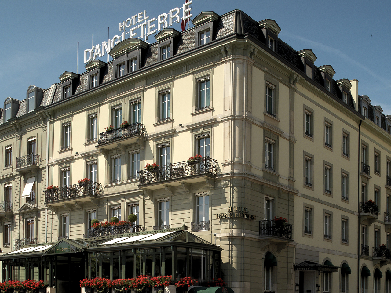 Unique Sleeps: Hotel d'Angleterre, Geneva