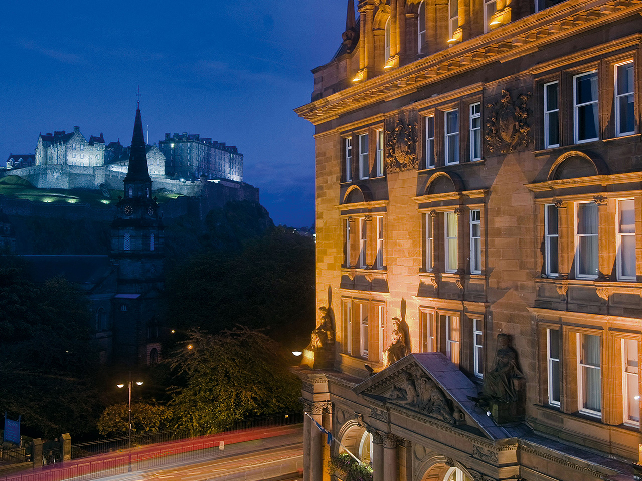 Unique Sleeps: Waldorf Astoria – The Caledonian, Edinburgh