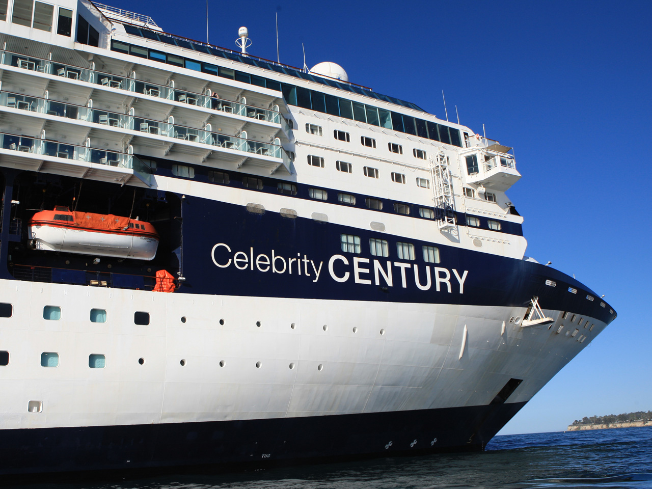 The Celebrity Century Sets Sail for Australia