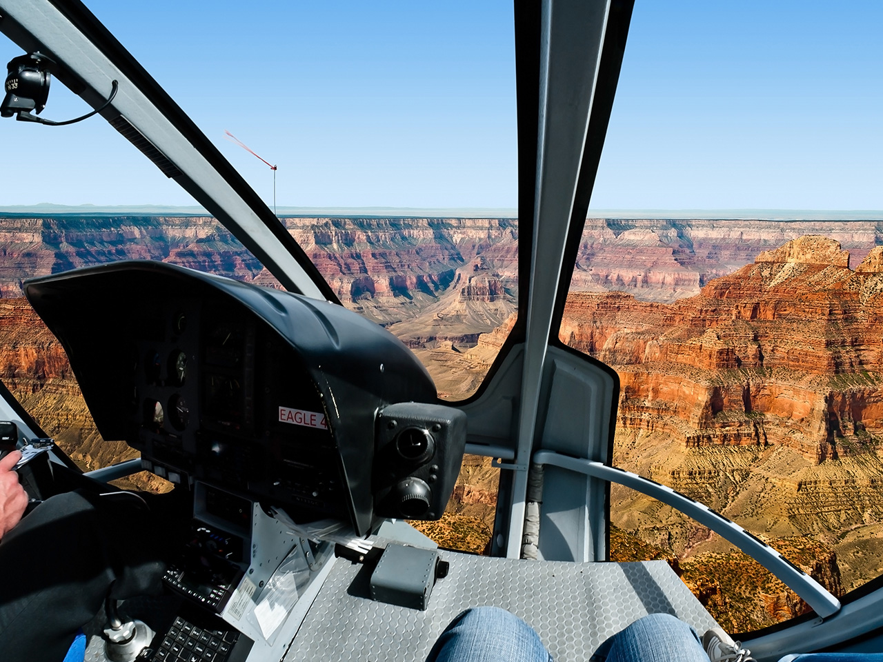The Grand Canyon from Great Heights