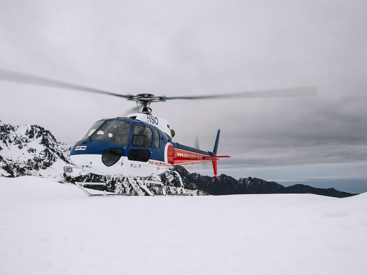Get up close to NZ's Glaciers
