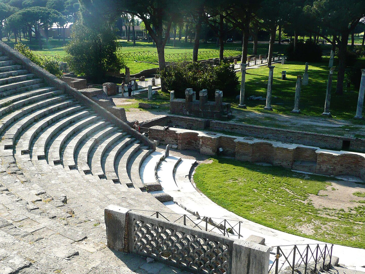 Ostia Theater Ruins - Day Trips from Rome