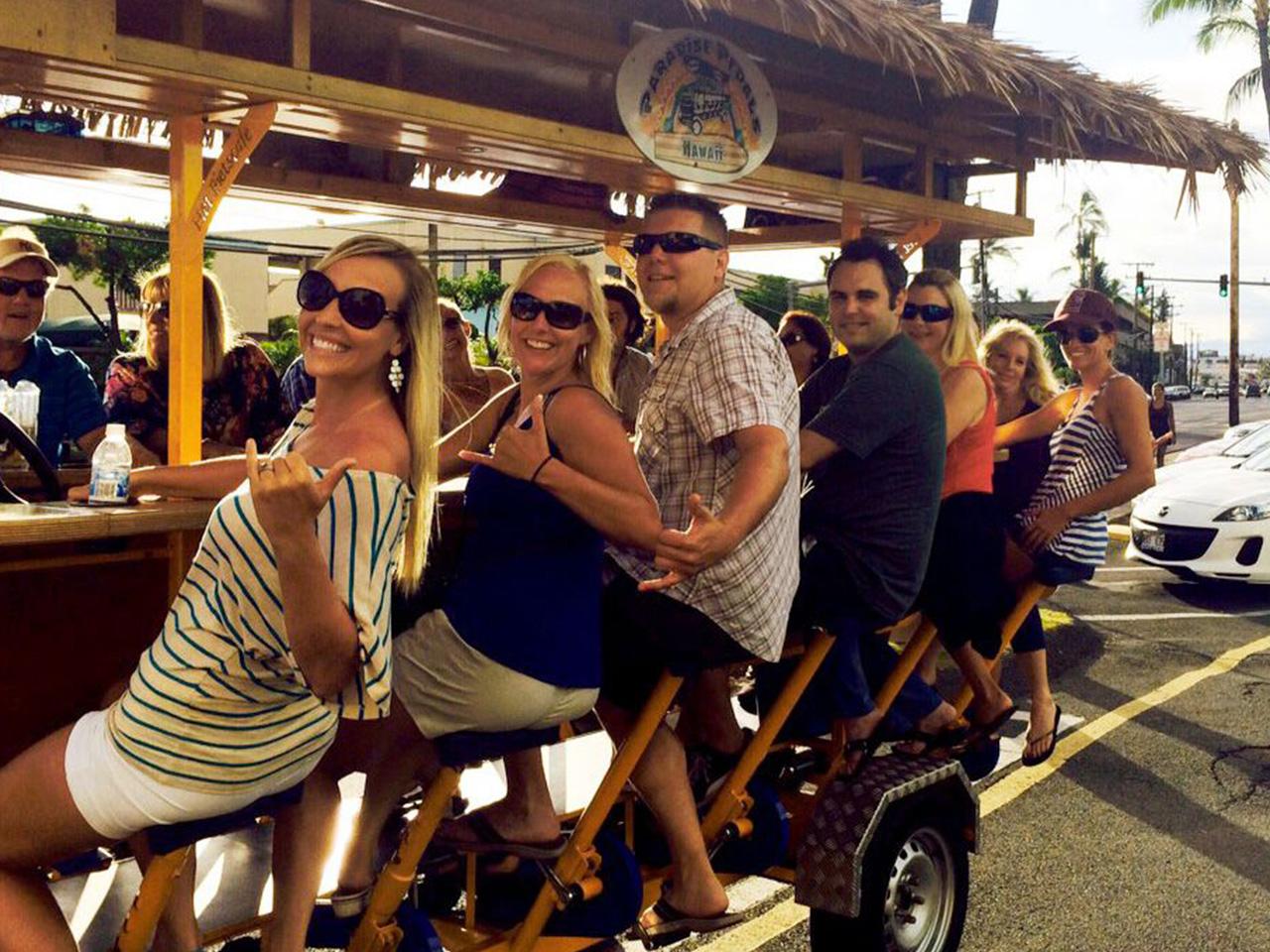 Party Bike in Waikiki