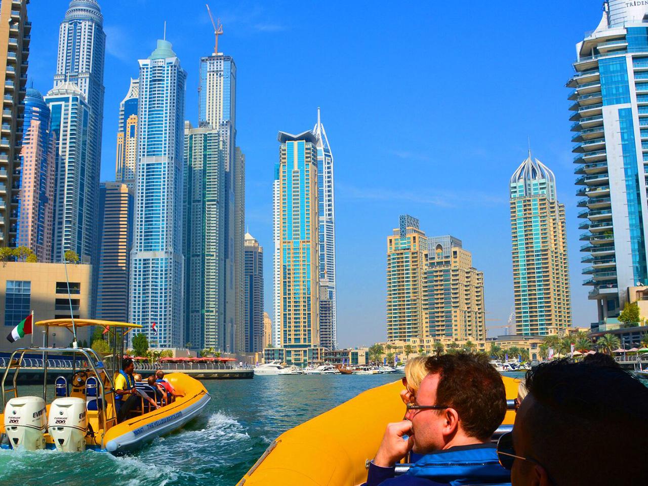 Dubai Canal Boat Tour