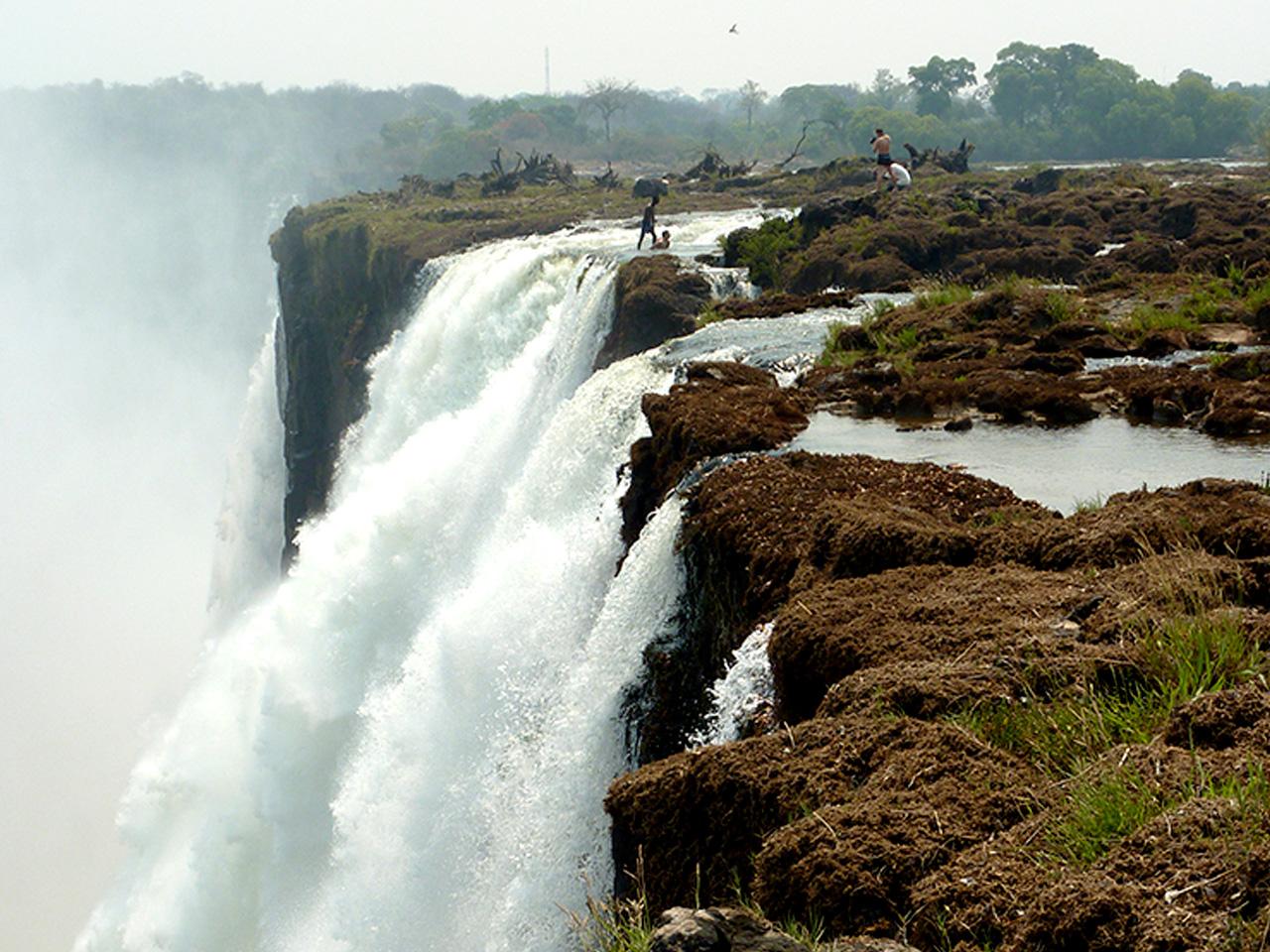 A Leap of Faith at Victoria Falls