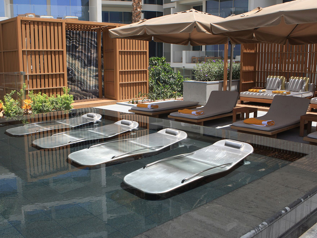Viceroy Dubai Spa pool