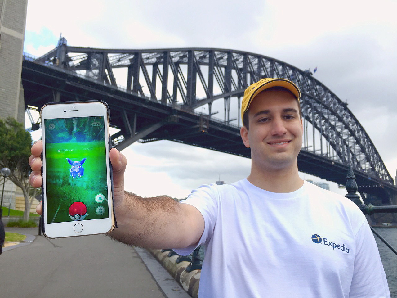 The Pokémon Go Master on a quest to catch 'em all