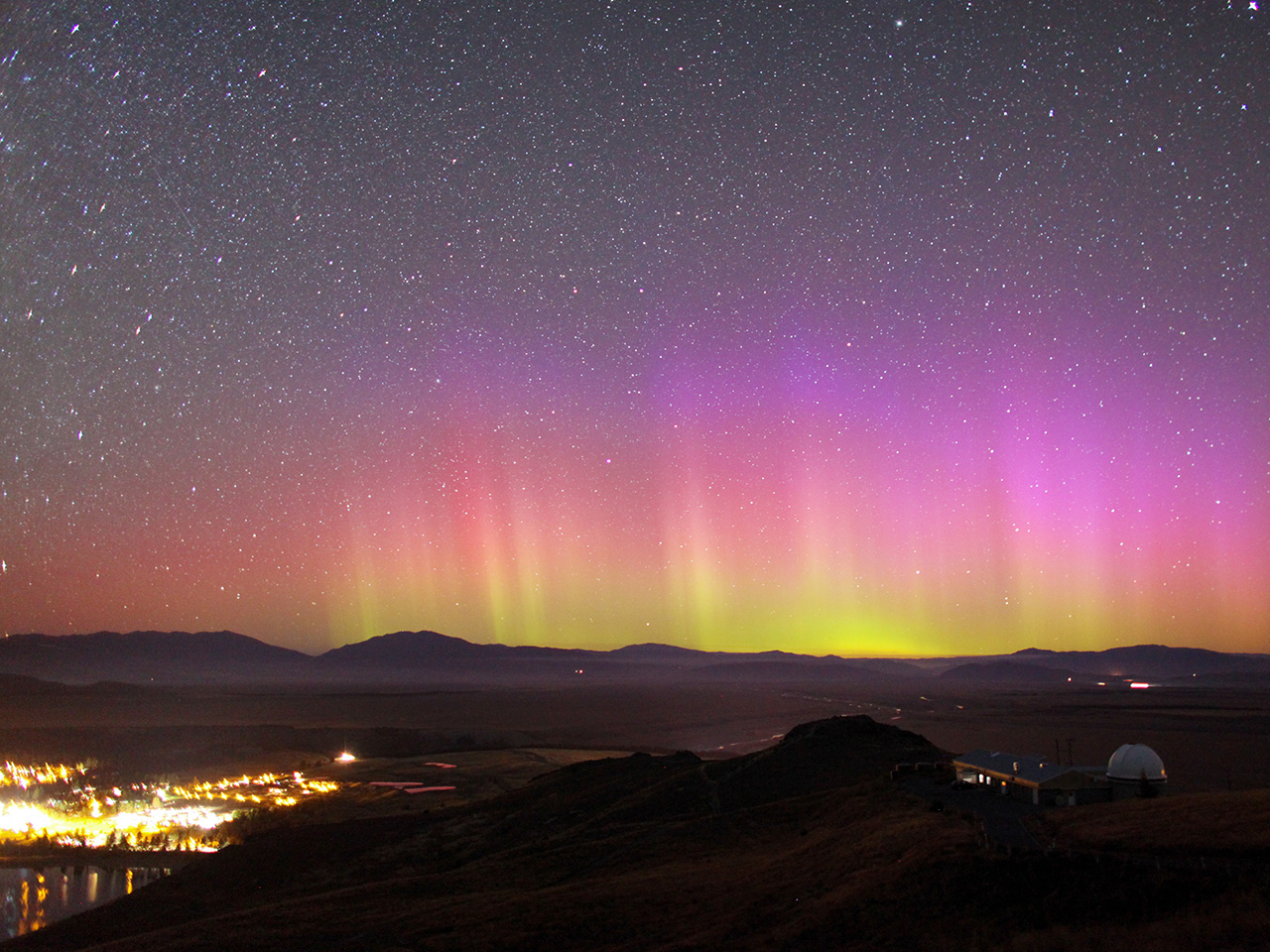 Chasing the Southern Lights in New Zealand