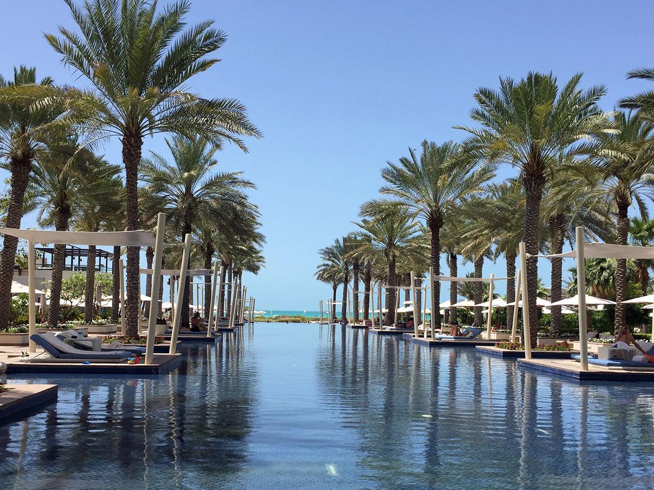 Park Hyatt Abu Dhabi pool