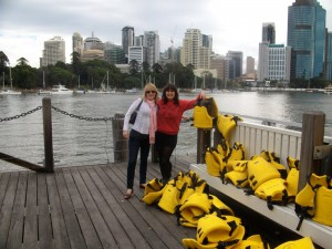 The lastminute lovelies get ready to explore Brisbane River by kayak!