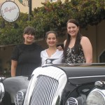 The lastminute lovelies tour the Barossa in a 1962 Daimler