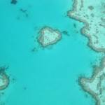 The world famous Heart Reef