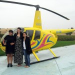 The lastminute lovelies take a trip with Barossa Helicopters