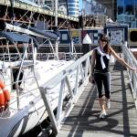 Daniella at Sydney Harbour