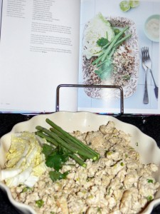 Pork Larb - the finished product