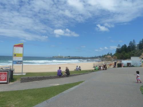 North Wollongong beach. Bliss.