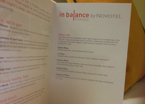 sofitel sydney pillow menu-#22