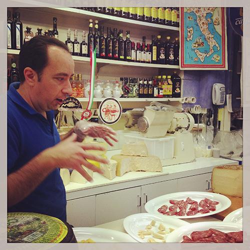 Raineri's tasting