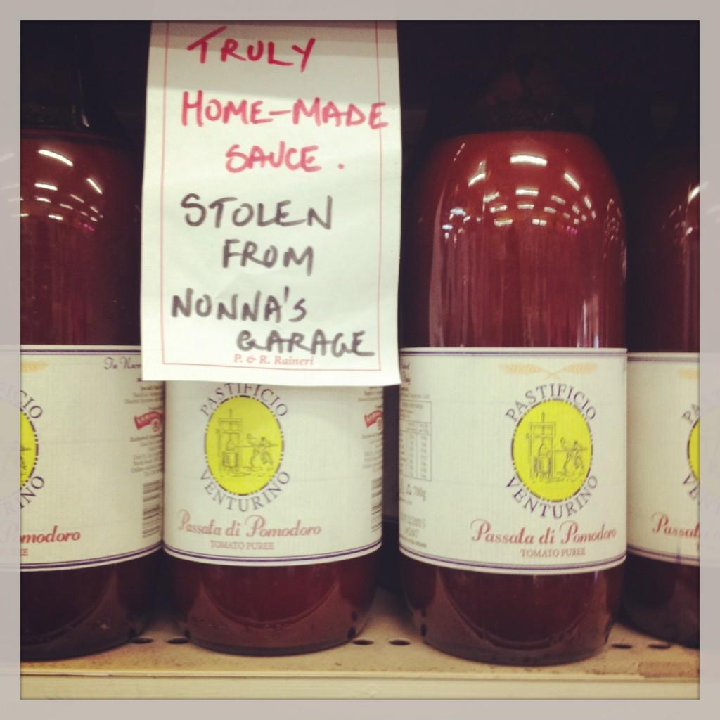 Raineri's sauce