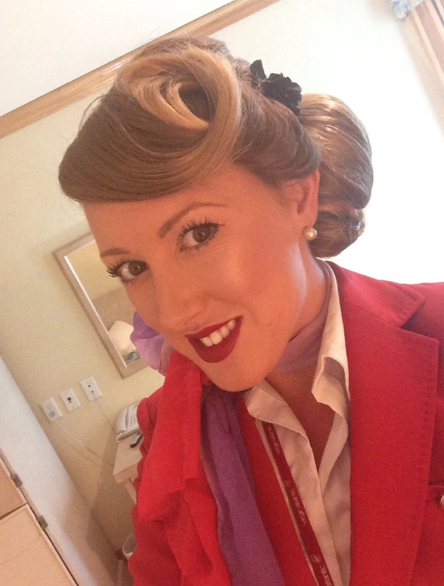 Virgin Atlantic Cabin Crew member Claire