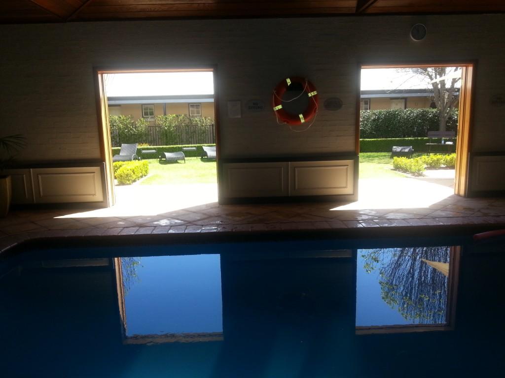 Inside the pool room, Sebel Resort & Spa Hawkesbury Valley