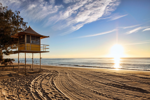 Beaches on the Gold Coast